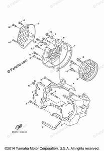 Yamaha Scooter 2009 Oem Parts Diagram For Air Shroud