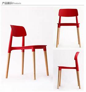 aliexpresscom buy wood plastic chairwood dining With plastic furniture for living room