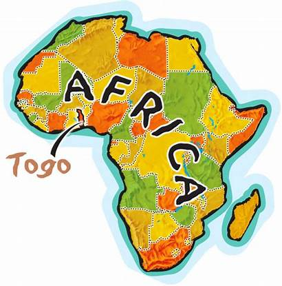 Togo Clipart Map Africa Clipartbest Too Toursmaps