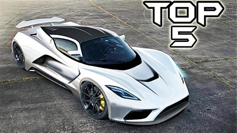 Top 5 Fastest Car In The World Youtube