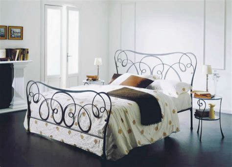 bedrooms bedroom decortaing idea with wrought iron bed