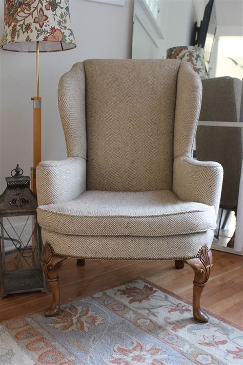 Chairs And Furniture by Upholstered Wingback Chairs Homesfeed