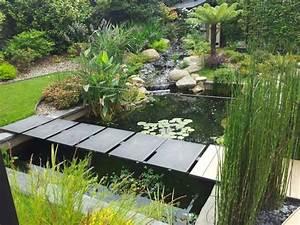 bassins de jardin le pole d39attraction d39un jardin With faire un jardin zen exterieur 8 creer un bassin contemporain dans votre jardin