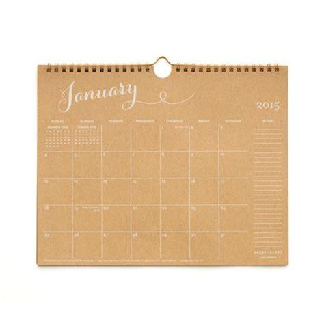 sugar paper desk calendar a few of my favorite 2015 calendars
