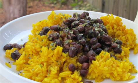 yellow rice and beans five inspiring gluten free dinners gazing in
