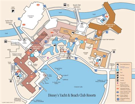 yacht club room number map wdwmagic unofficial walt