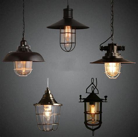 retro loft style pendant light fixtures edison vintage