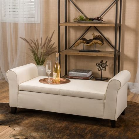shop torino contemporary fabric upholstered storage