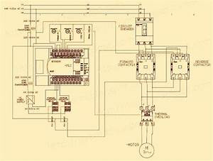 Electrical Wiring Diagram Forward Reverse Motor Control And Power Circuit Wit U2026
