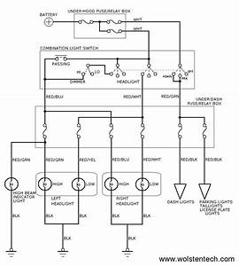 Scematic Diagram Panel  Acura Integra Headlight Wiring Diagram