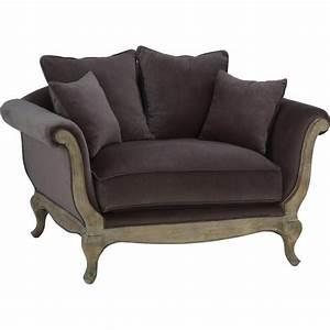 Canapé Une Place : canap love seat pompadour 1 5 place ~ Teatrodelosmanantiales.com Idées de Décoration