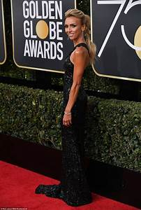 Red carpet at 75th annual Golden Globe Awards