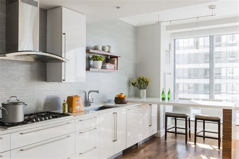condo kitchens makeover condo kitchen gets modern makeover the boston globe 2438