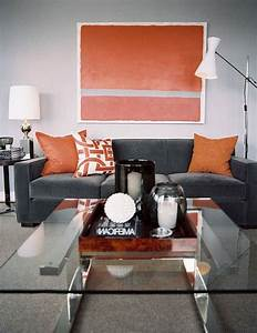 Amazing of Cool Living Room Ideas Grey And Orange From Gr