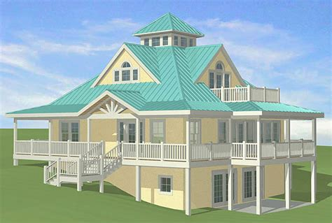 SOUTHERN COTTAGES HOUSE PLANS: Sloping Sites
