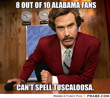 Alabama Auburn Memes - best 25 alabama football funny ideas on pinterest alabama football alabama crimson tide and