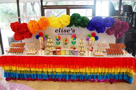 kara 39 s party ideas rainbow themed birthday party kara 39 s party ideas rainbow birthday party via kara 39 s party