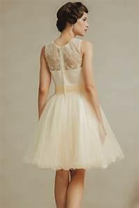 Robe Pour Temoin De Mariage : romantique mini robe pour t moin de mariage col rond ~ Melissatoandfro.com Idées de Décoration