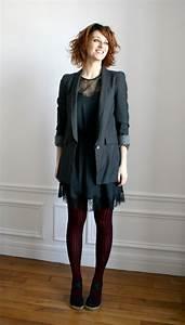 robe grise quel collant With quelle couleur avec bleu marine 14 comment porter les couleurs pastels bien habillee