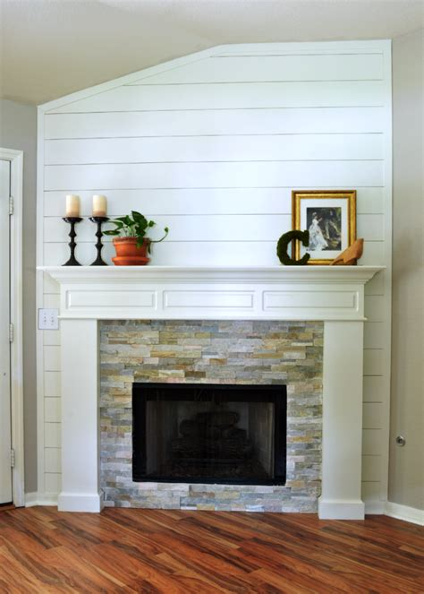 brick fireplace remodel floor to ceiling fireplace makeover integralbook