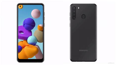 A large 4,000mah battery will keep the lights on. Samsung Galaxy A21 Fresh 360-Degree Render Leak Tips Hole ...
