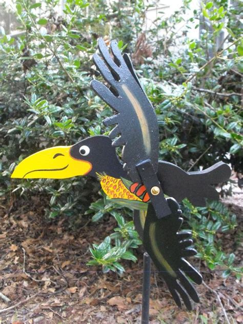 whirligig whirligigs wind crow spinners etsy weather wooden garden pvc patterns bird dyi crafts projects plans wood sculptures vanes toys