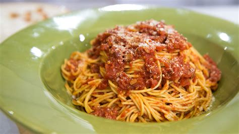 cuisine spaghetti comfort food spaghetti all 39 amatriciana no bake