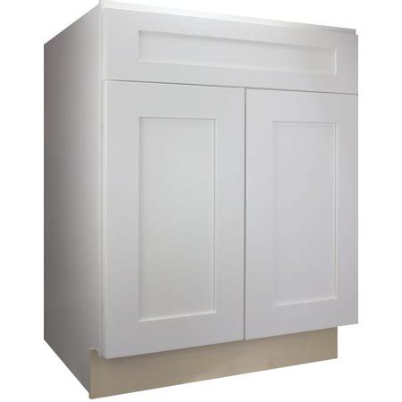 kitchen cabinets ready to assemble rta all wood cabinet mania white shaker b36 base cabinet 36 quot wide