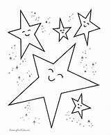 Coloring Preschoolers Stars Preschool Printable Popular sketch template