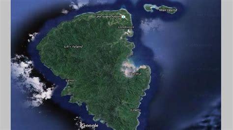 tsunami  waves hit lihir island loop png