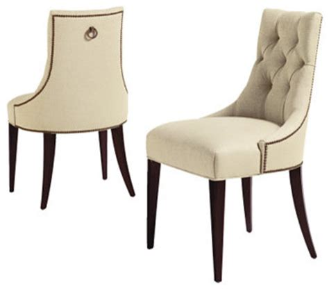 thomas pheasant dining chair transitional dining