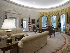 The White House U2019s Gleaming New Renovations Include Trump