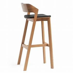 Tonne Aus Holz : merano stool r hocker ton aus holz mit gepolstertem sitz sitzh he 63 oder 80 cm sediarreda ~ Watch28wear.com Haus und Dekorationen