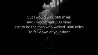 The Proclaimers I 39 M Gonna Be 500 Miles Lyrics YouTube My Country Tis Of Thee C Major YouTube Best 20 Great Song Lyrics Ideas On Pinterest Country Flute Sheet Music Don 39 T Let Me Down