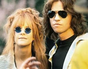 Meg Ryan as Pamela Courson and Val Kilmer as Jim Morrison ...