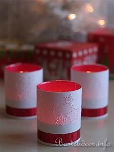 Teelichter Basteln Weihnachten : basteln mit papier f r weihnachten teelichtgl ser mit gestochenen motiven ~ Frokenaadalensverden.com Haus und Dekorationen