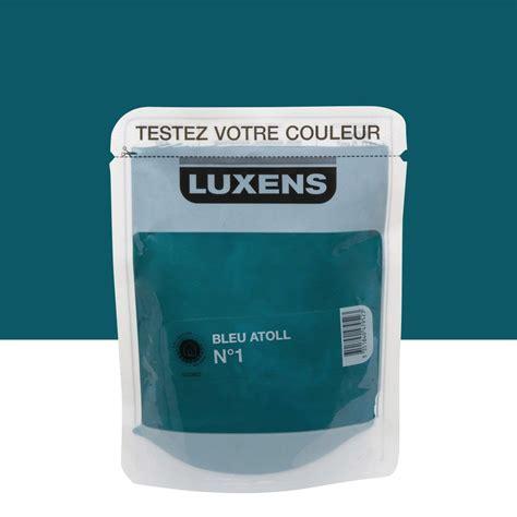peinture v33 cuisine testeur peinture bleu atoll 1 luxens couleurs intérieures