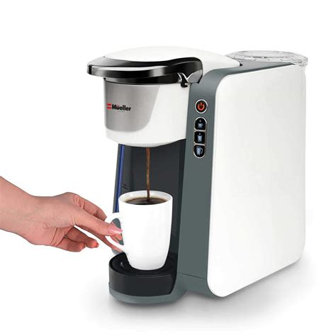 What's the best single cup coffee maker? Mueller Ultima Single Serve Pod Compatible Coffee Maker Machine - Shops Kitchen