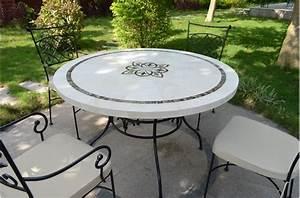 Table Mosaique Jardin : catgorie table de jardin page 4 du guide et comparateur d 39 achat ~ Teatrodelosmanantiales.com Idées de Décoration