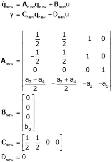 find jordan form representation of the following matrices state space representations of linear physical systems