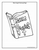 Coloring Story Pages Bible Stories Printable Getcolorings sketch template