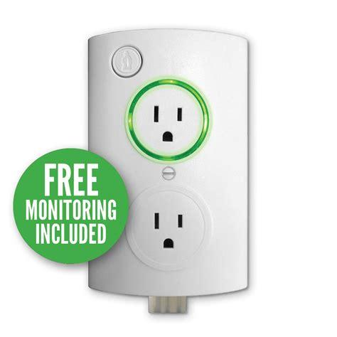 Storage Ideas Kitchen - pumpspy wi fi sump pump smart outlet so1000 the home depot