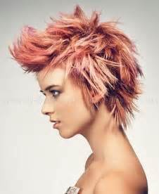 Short Messy Spiky Hairstyles for Women