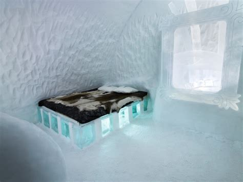 worlds  ice hotel jukkasjarvi sweden world