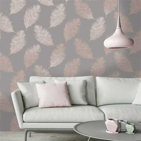 fawning feather rose gold holden decor