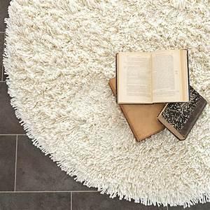 Runder Teppich Weiß : runder teppich wei ~ Whattoseeinmadrid.com Haus und Dekorationen