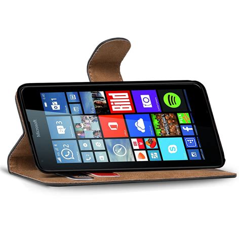 handy tasche f 252 r microsoft lumia 640 xl flip cover