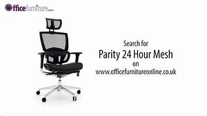 Parity Executive 24 Hour All Mesh Office Chair Features