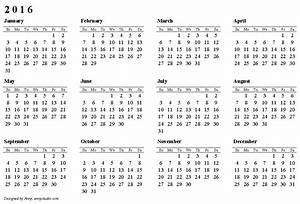 2016 calendar download With sample calendar 2016