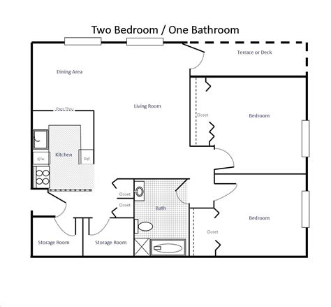 Two Bedroom Apartment Floor Plan Photo by Floor Plans Woodland Apartments